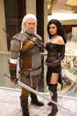 Eric and Brittany Danger as Geralt and Yennifer from The Witcher (Courtesy S+L photography)
