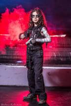 Local youngster as The Winter Soldier, photo from Lee Workman