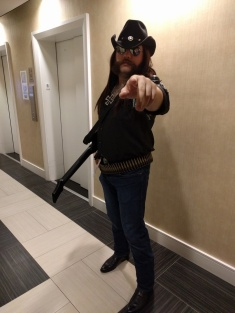 Reddit user TrystonG33K as Killmaster from Brutal Legend (a.k.a Lemmy from Motorhead) (Courtesy Reddit)