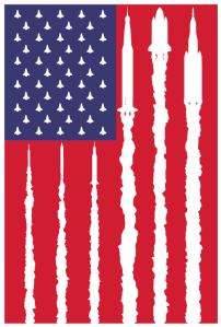 rocket-flag